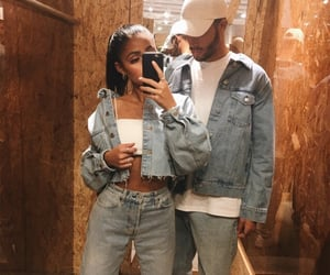 couple, goals, and denim image