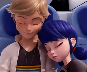 gif, love, and adrien agreste image