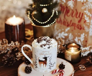 coffee, winter, and candle image