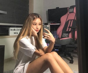 asian, female, and girl image