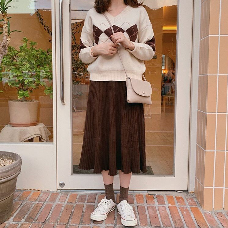 asian, brown, and fashion image