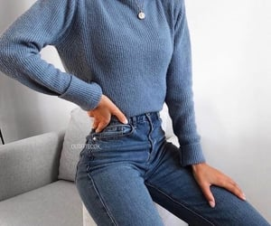 beauty, blue, and blue jeans image
