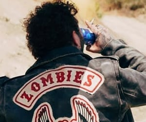 smoke, vintage, and zombie image