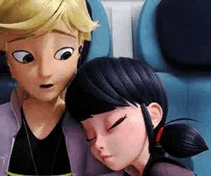Adrien, gif, and ladybug image
