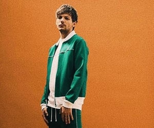 green, orange, and louis tomlinson image