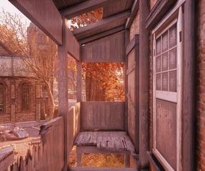 autumn, broken, and dilapidated image