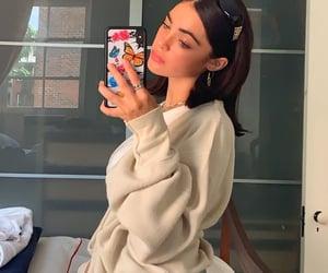 pretty, mirror pic, and trendy image