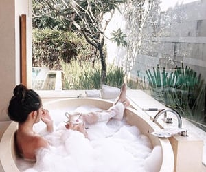 bathtub, chi, and relax image