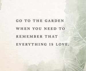 garden, growing, and quote image