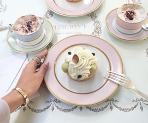 food, coffee, and pink image