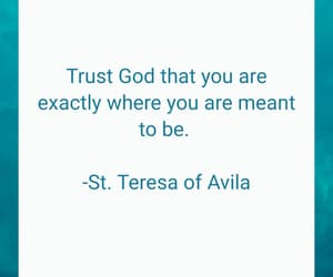 god, trust, and meant to be image