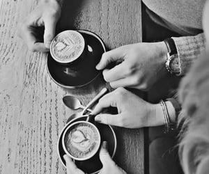 amor, escrito, and cafe image