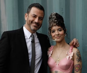 jimmy kimmel, melanie martinez, and k-12 image