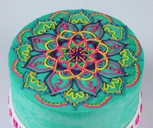 cake and mandala image