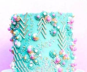 birthday, cake, and sprinkle image