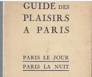 book, parís, and guide image
