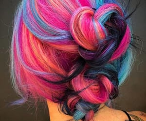colour, hair, and hair accessories image