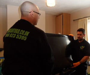 rubbish removal, waste removal london, and rubbish clearance london image