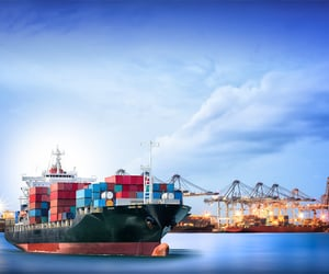cargo, freight, and sea cargo image
