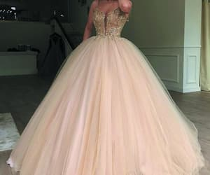 elegant prom dress, ball gown prom dress, and cheap prom dress image