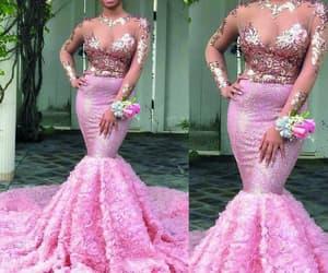 vestido de festa, robe de soirée, and elegant evening dress image