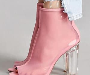 sexy dress shoes and fashion high block heels image