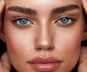 makeup, barbara palvin, and eyes image