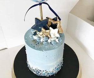 birthday, stars, and cake image
