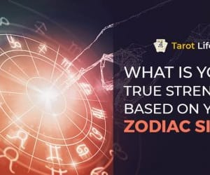 astrology, zodiac sign, and tarot reading image