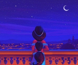 aladdin, jasmine, and princess image