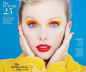 Taylor Swift, rolling stone, and lover image