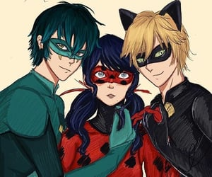 miraculous, miraculous ladybug, and viperion image