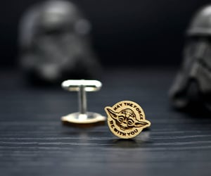 cufflinks, star wars gift, and etsy image