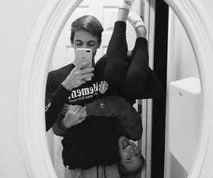 crazy, he and she, and weheartit image