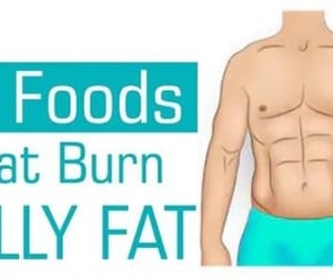 weight loss, lose weight, and flat belly image