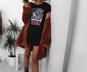 beauty, girl, and moda image