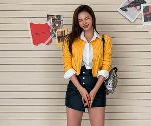 kfashion, korean fashion, and outfit image