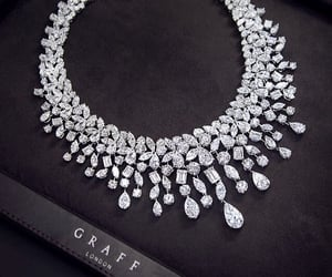 diamond, necklace, and luxury image