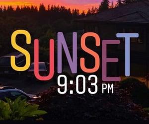 atardecer, sunset, and beutiful image