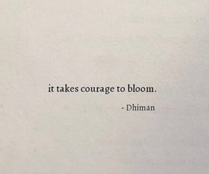 quotes, words, and bloom image