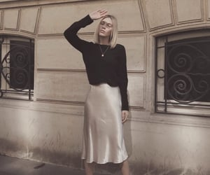 chic, girl, and paris image