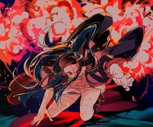 anime, nezuko, and kimetsu no yaiba image