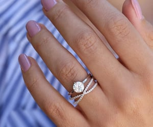 etsy, engagement ring, and solitaire ring image