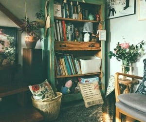 home, vintage, and book image