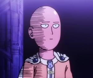 saitama, anime, and one punch man image