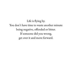 life, move forward, and quotes image