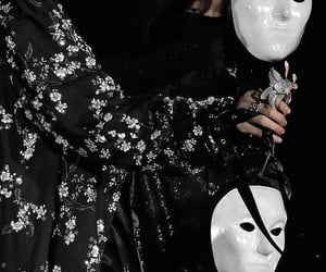 black, dark, and details image