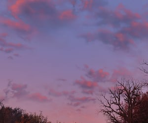 clouds, dreamy, and dusk image
