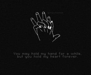 breakups, lost, and hand image