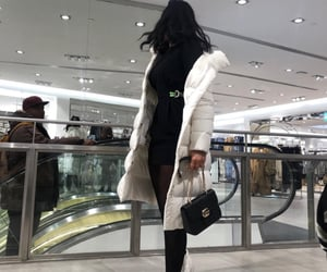 shoes bags dress, fashion outfit ootd, and hair nails makeup image